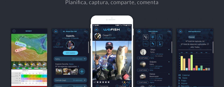 WeFish, la aplicación que te ayudará y hará disfrutar más de la pesca deportiva