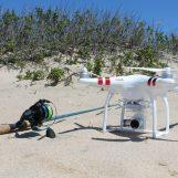 Drones y pesca, saca partido a lo último en tecnología