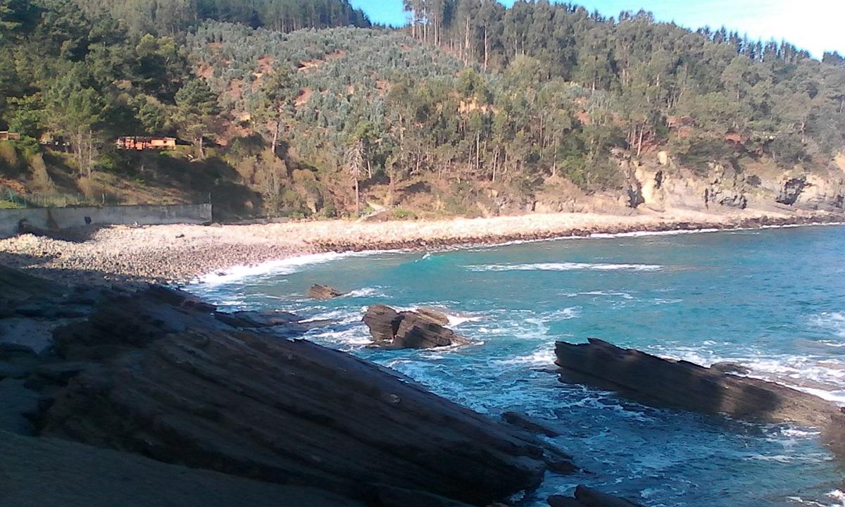 un buen lugar para spinning y sargos entre Bermeo y Lekeitio