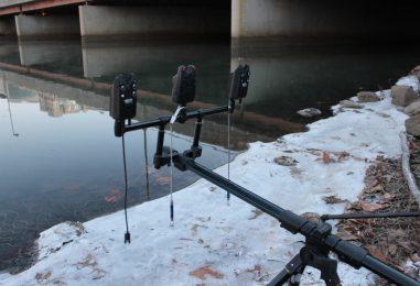 Cómo pescar en invierno si es frío, soleado y sin apenas lluvias