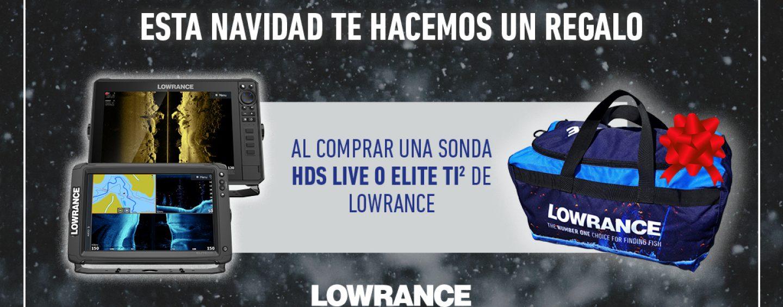 Lowrance Elite Ti2 y Lowrance HDS Live, una gran oportunidad de actualizar tu sonda con la promoción de Navidad