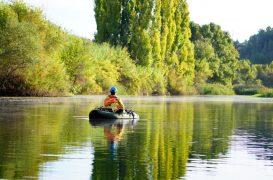 Pesca de lucios desde pato y a vertical