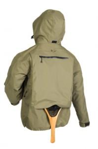 Detalle chaqueta Imago Amphibian