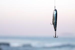 Pescar con señuelo de superficie