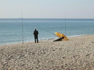 afición a la pesca