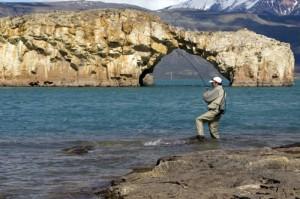 pescar en Tierra del Fuego
