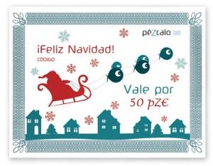 Tarjeta regalo PéZcalo