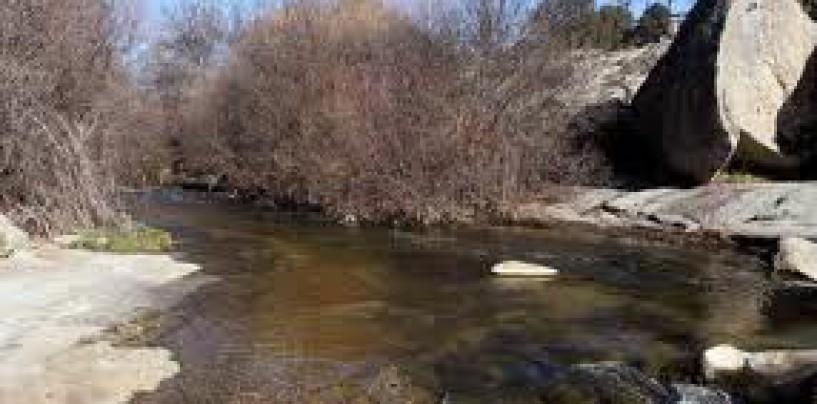De pesca en el río Aceña