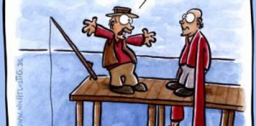 Conversación de besugos e historias de pescadores