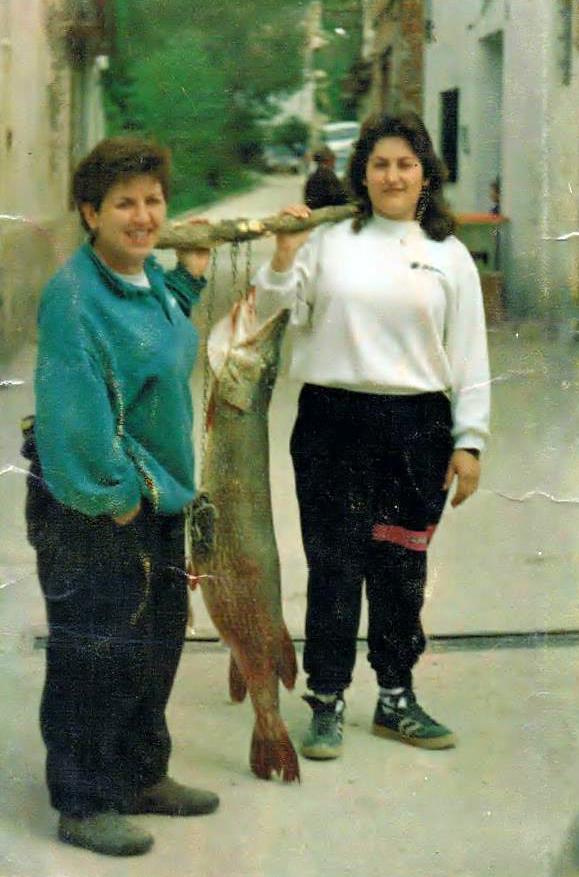 pesca de lucios de 2 cifras