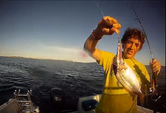 pesca de spinning y light jigging en Menorca
