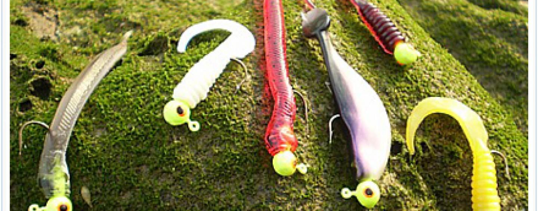 6 Montajes Básicos Para Empezar A Pescar Con Señuelos De Vinilo Revista De Pesca Deportiva Coto De Pezca