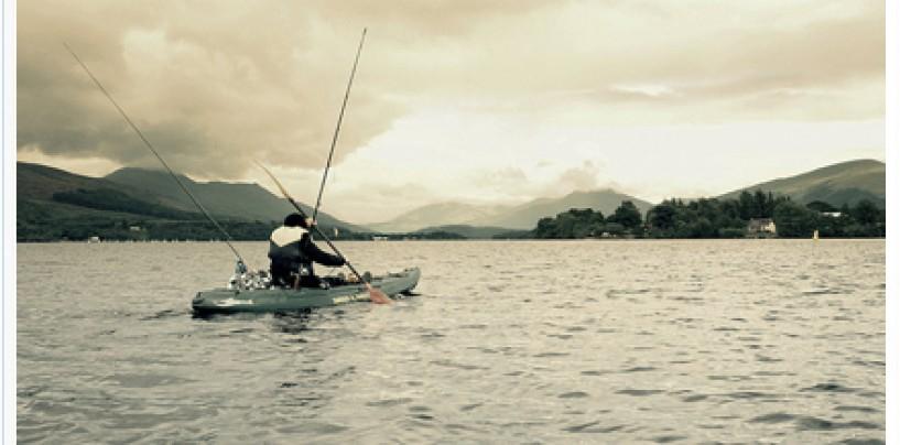 Iniciación al curricán desde kayak de pesca