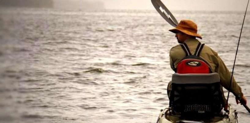 """Kayak de pesca Cuda 12, el """"kayak bonito» de Jackson"""