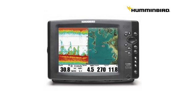 onda / GPS / plotter Humminbird 1158 HD XD Combo