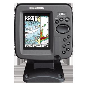 Sonda / GPS / plotter LCD color HUMMINBIRD 386 CXI Combo