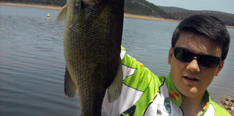Iniciación a la pesca a pez visto