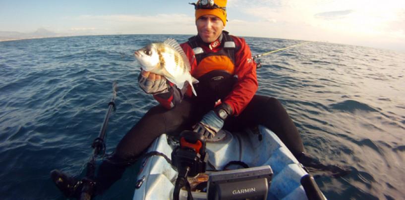 4 consejos para pescar chopas desde kayak
