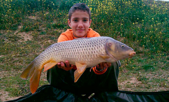 Felipe Babife ha quedado en tercer lugar en nuestro concurso de fotos de pesca.