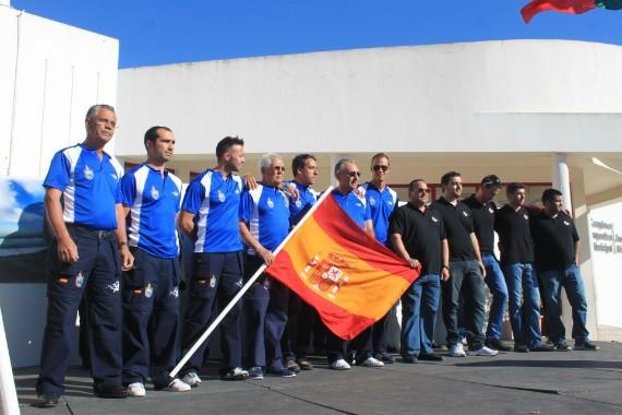 España campeona del mundo en pesca Surfcasting en el 2013 en Portugal