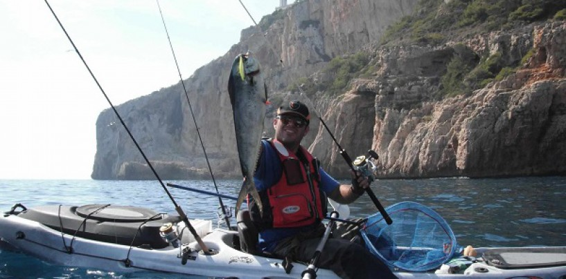 Accesorios para un kayak de pesca: el ancla