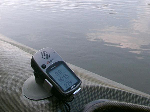 GPS para kayak de pesca
