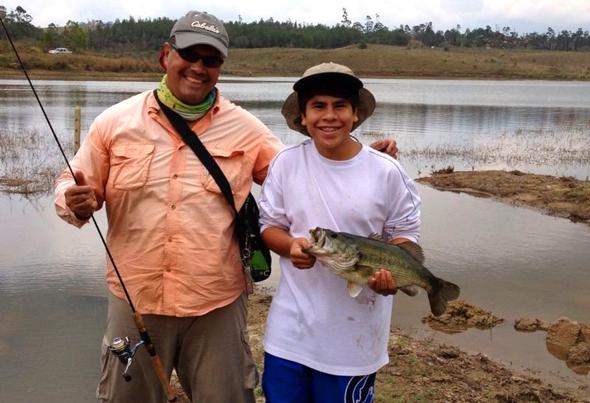 Juan Díaz es el ganador de nuestro concurso de fotos de pesca.