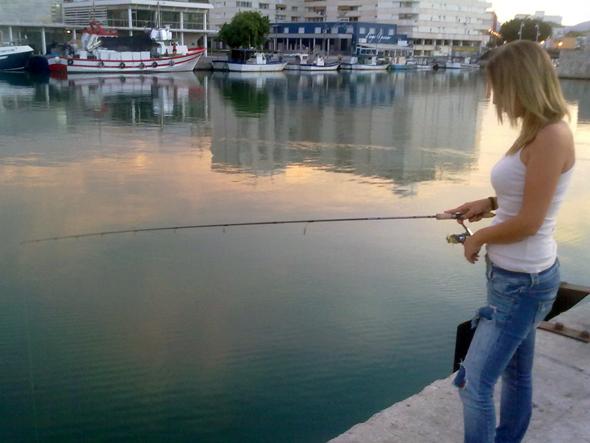 Rockfising ligero en puertos