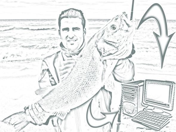 Roque Navarro, informatización de la pesca