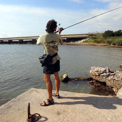 Riñonera porta-señuelos Coast de Barros