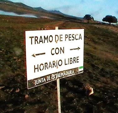 Zona libre del Embalse de Orellana