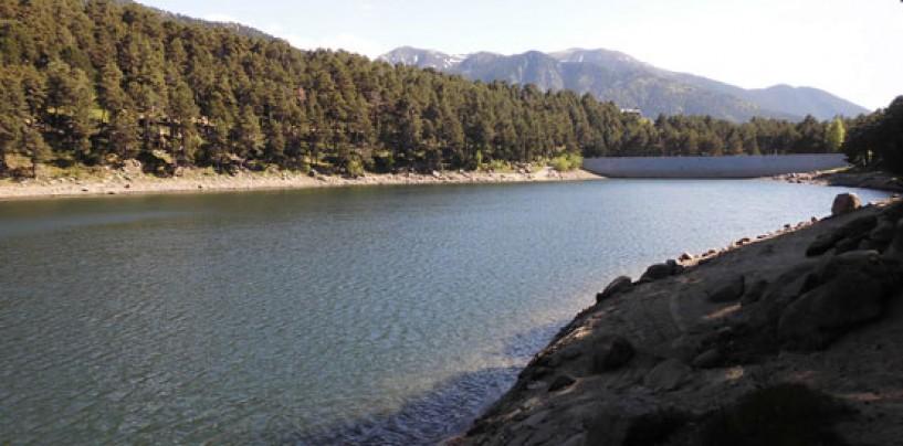 Pesca en el lago de Engolasters