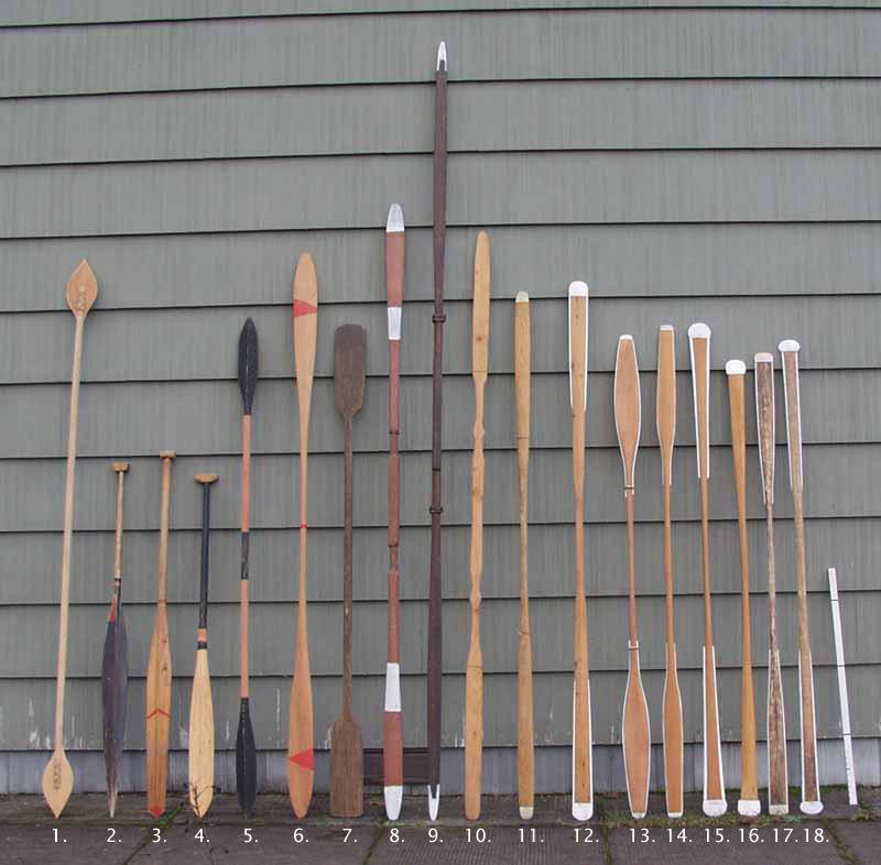 Pala de kayak groenlandesa