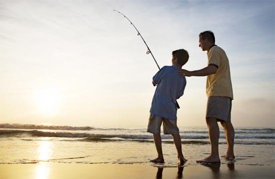 Examen para obtener la licencia de pesca