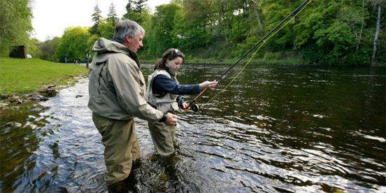 examen para la licencia de pesca