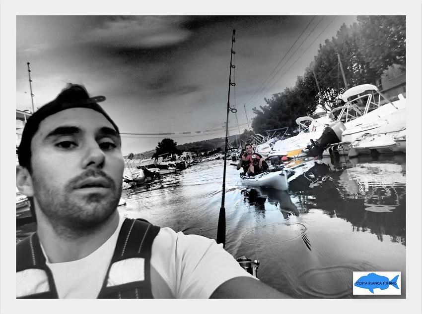 seguridad en la pesca con kayak
