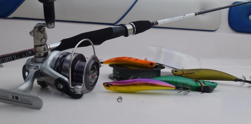 Pescar a eging y la pesca de cefalópodos
