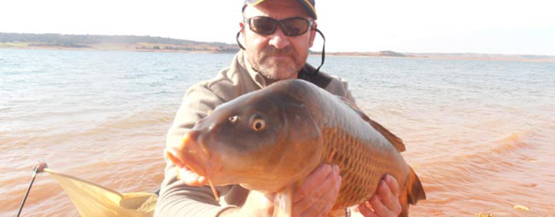 El cambio climático y la pesca de carpas