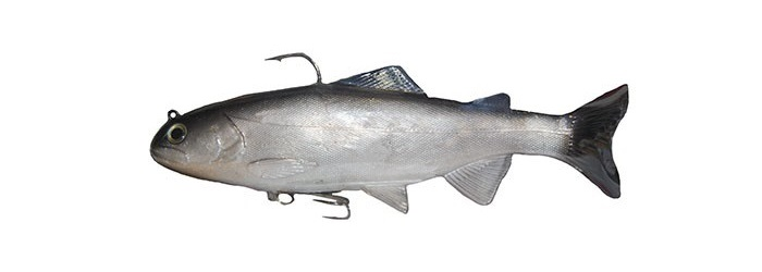 ISHIDA GODZILLA SWIMBAIT NATURAL SILVER BLACK