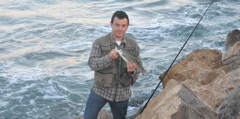Como pescar Lubinas a drop-shot