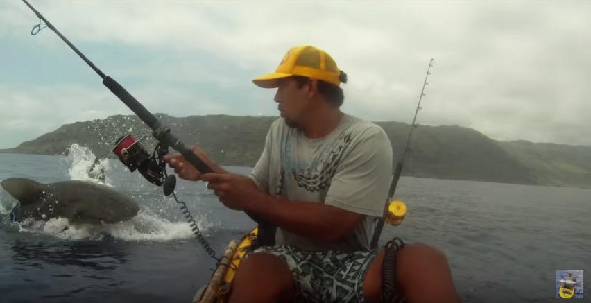 peligrosa es la pesca desde Kayak