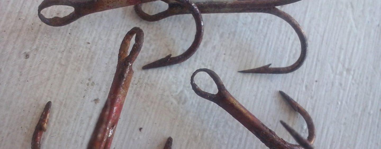 El anzuelo, el talón de Aquiles de muchos pescadores