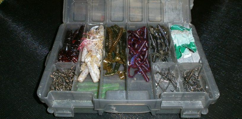 Señuelos tubo de vinilo muy efectivos en la pesca del black bass