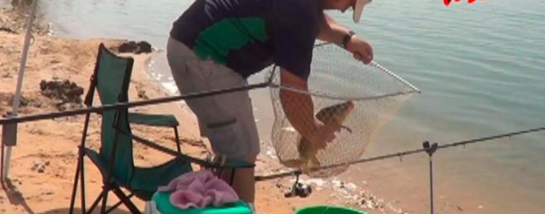 Utilización del freno del carrete en la pesca a inglesa