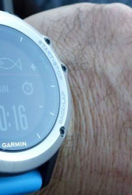 Reloj Quantix 3 de Garmin, un fiel compañero de pesca