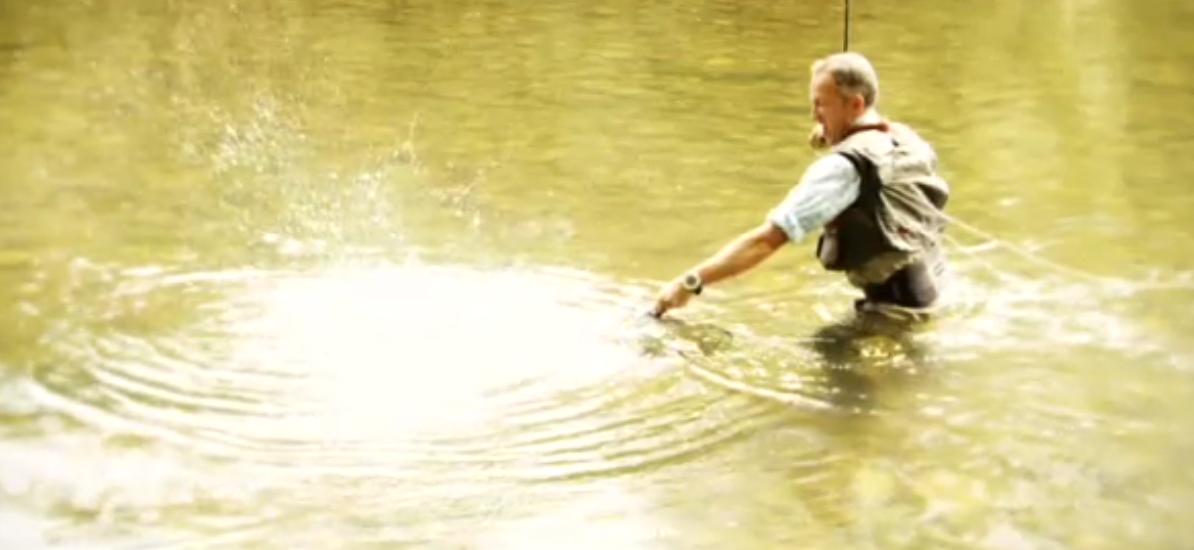 programa de pesca Río Salvaje
