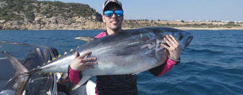 Pescando mi primer atún rojo
