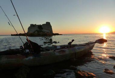 Iniciación a la pesca en Kayak