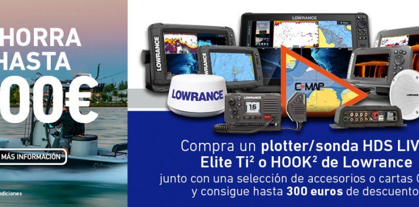 ¿Quieres cambiar tu plotter/sonda? Lowrance te lo pone fácil con una promoción con la que podrás ahorrar hasta 300 euros