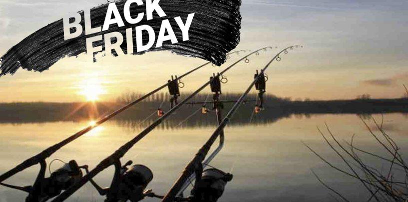 Aprovecha las mejores ofertas de productos de carpfishing también en Black Friday